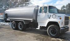 ford mack tank truck